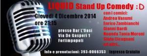 il logo dell'evento del 4 dicembre 2014